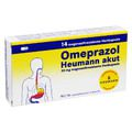 OMEPRAZOL Heumann akut 20 mg magensaftr.Hartkps.