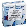 CETIRIZIN Sandoz 1 mg/ml Sirup
