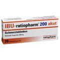 IBU RATIOPHARM 200 mg akut Schmerztbl.Filmtabl.