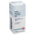 BIOCHEMIE DHU 20 Kalium alum.sulfur.D 12 Tabletten