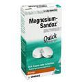 MAGNESIUM SANDOZ Quick Minerals Lutschtabletten