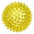 IGELBALL 8 cm gelb transparent
