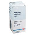 BIOCHEMIE DHU 17 Manganum sulfuricum D 12 Tabl.