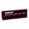 ANABOX Tagesbox rot