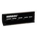 ANABOX Tagesbox schwarz