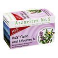 H&S Galle- und Lebertee N Filterbeutel