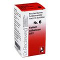 BIOCHEMIE 6 Kalium sulfuricum D 12 Tabletten
