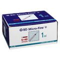 BD MICRO-FINE+ Insulinspr.1 ml U40 12,7 mm