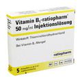 VITAMIN B1 ratiopharm 50mg/ml Inj.Lsg. Ampullen
