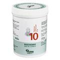 BIOCHEMIE Pflüger 10 Natrium sulfuricum D 6 Tabl.