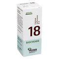 BIOCHEMIE Pflüger 18 Calcium sulfuratum D 6 Tabl.