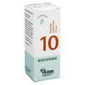 BIOCHEMIE Pflüger 10 Natrium sulfuricum D 6 Tropf.