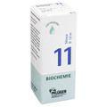 BIOCHEMIE Pflüger 11 Silicea D 12 Tropfen