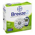 BREEZE 2 Sensorenscheiben Teststreifen