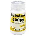 FOLSÄURE 800 Microgramm Tabletten
