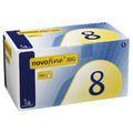 NOVOFINE 8 Kanülen 0,30x8 mm 30 G thinwall