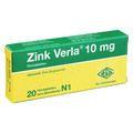 ZINK VERLA 10 mg Filmtabletten