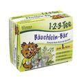 SIDROGA 1.2.3 Tee Bäuchlein Bär Extrakt