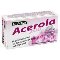 ACEROLA 200 All Active Lutschtabletten
