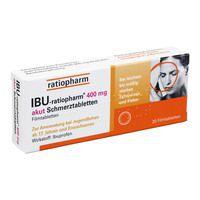 IBU RATIOPHARM 400 mg akut Schmerztbl.Filmtabl.