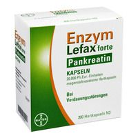 ENZYM LEFAX forte Pankreatin magensaftres.Kapseln