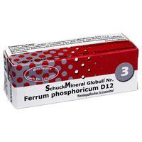 SCHUCKMINERAL Globuli 3 Ferrum phosphoricum D12