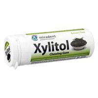 MIRADENT Xylitol Chewing Gum Green Tea