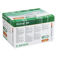 OMNICAN Insulinspr.1 ml U100 m.Kan.0,30x8 mm einz.
