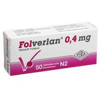 FOLVERLAN 0,4 mg Tabletten