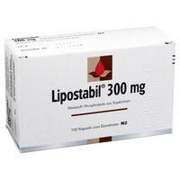 LIPOSTABIL 300 mg Hartkapseln