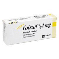 FOLSAN 0,4 mg Tabletten