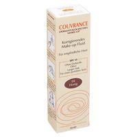 AVENE Couvrance korrigier.Make-up Fluid honig