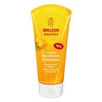 WELEDA Calendula Waschlotion & Shampoo Baby & Kind