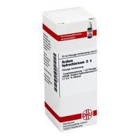 ACIDUM HYDROCHLORICUM D 4 Dilution