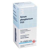 BIOCHEMIE DHU 3 Ferrum phosphor.D 12 Tabletten