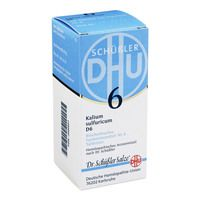 BIOCHEMIE DHU 6 Kalium sulfur.D 6 Tabletten