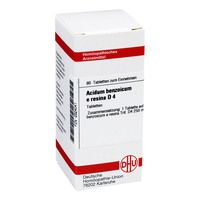ACIDUM BENZOICUM E Resina D 4 Tabletten