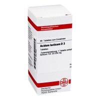 ACIDUM LACTICUM D 3 Tabletten