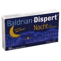 BALDRIAN DISPERT Nacht zum Einschlafen üb.Tabl.