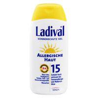 LADIVAL allergische Haut Gel LSF 15