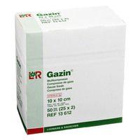 GAZIN Mullkomp.10x10 cm steril 8fach