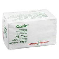 GAZIN Mullkomp.7,5x7,5 cm unsteril 8fach Op