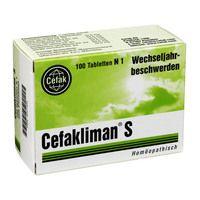 CEFAKLIMAN S Tabletten