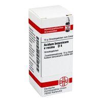 ACIDUM BENZOICUM E Resina D 4 Globuli