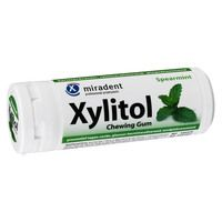 MIRADENT Xylitol Chewing Gum Spearmint