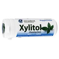 MIRADENT Xylitol Chewing Gum Minze