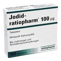 JODID ratiopharm 100 μg Tabletten