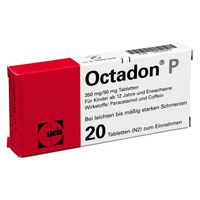 octadon p tabletten 20 st schmerzmittel arzneimittel. Black Bedroom Furniture Sets. Home Design Ideas