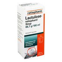 LACTULOSE ratiopharm Sirup