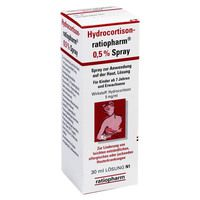HYDROCORTISON ratiopharm 0,5% Spray